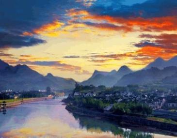 """龙川旅游风景区人文景观与自然景观相结合,胡氏宗祠,素有""""木雕艺术博物馆""""和""""民族艺术殿堂""""之美称。"""
