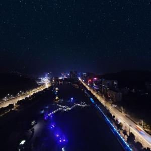 荆门市夜景