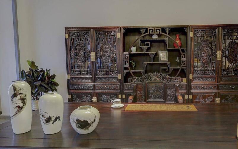 传福红木珍藏馆全景展示