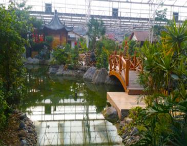 绿色生态资源和优美的园林艺术为载体,赋予就餐过程以体验、品味和愉悦,共同演绎休闲娱乐美食...
